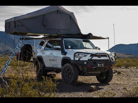 2017 Toyota 4Runner >> Overlanding USA 4Runner Walk Around - 4K - YouTube