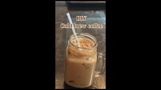 How to make REAL Cold Brew Iced coffee