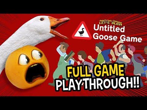 Untitled Goose Game Supercut!!