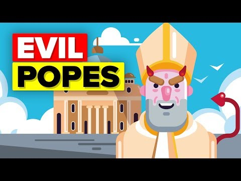 Most Evil Popes in the History of Mankind