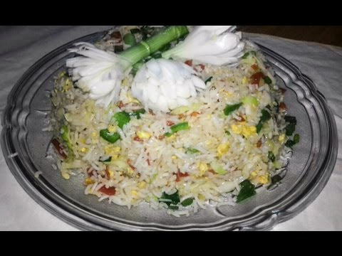 Egg Fried Rice  With Vegetable/How To Make Restaurant Egg Fried Rice At Home/Easy Egg Fried Recipe