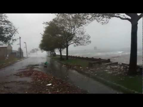 hurricane sandy in bayonne new jersey