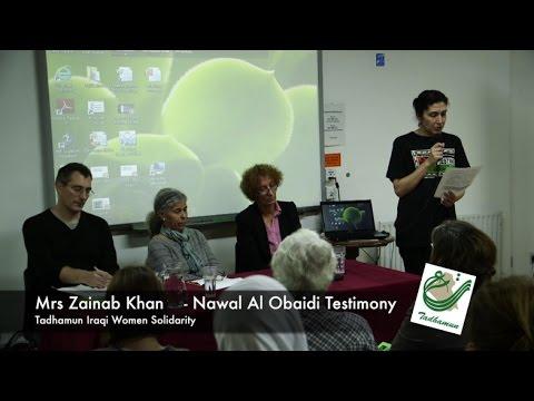 Zainab Khan on Human Rights Crisis in Iraq