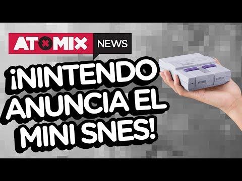 Nintendo anuncia el mini SNES Classic Edition - #ATOMIXNEWS [26/06/17]