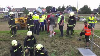 autocross/crazyrace Termunten 5-6-2011 - Ongeluk!!!