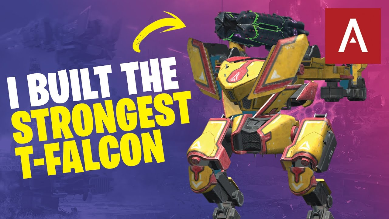 War Robots - Building The STRONGEST Falcon In The Game! WR Max Gameplay