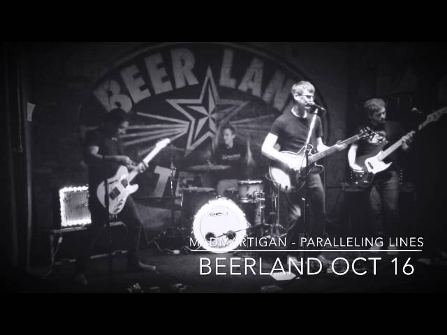 """""""Paralleling Lines"""" Live at Beerland - Courtesy of Jaime Flores!"""