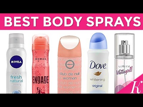 10 Best Body spray for Women in India with Price | Odor-Free Body in Summer - 2018