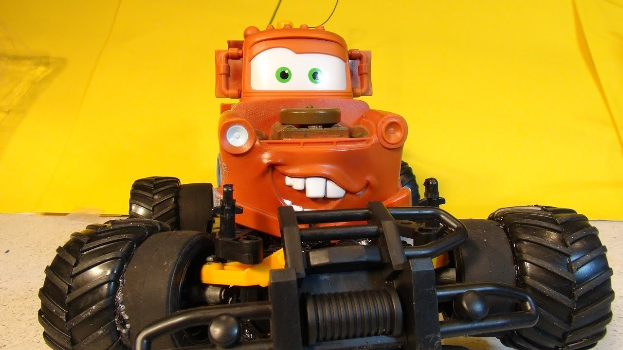 The Official Best Rc Monster Truck Mater From Pixar Cars Lightning Mcqueen Remote Control Car