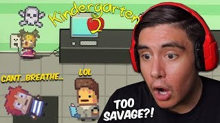 TWO EVIL TWINS HIRED ME TO BE THE BADDEST KID IN SCHOOL | Kindergarten 2 [3]
