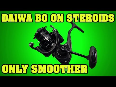 2019 The Smoothest and toughest sub 200$ spinning reel available.  Daiwa Saltist Back Bay