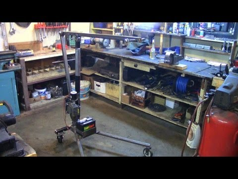 Part 3: Electric Utility Hoist/Engine Hoist (Building The Frame)