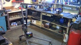 Part 3: Electric Utility Hoist/engine Hoist (building The Frame)