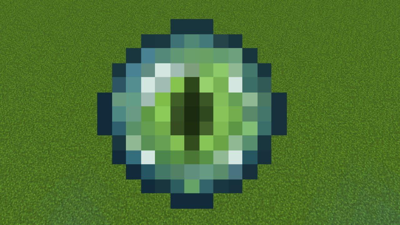 Как сделать глаз эндермана фото 243