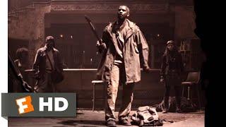 The Book of Eli (2010) - Bar Fight Sermon Scene (3/10) | Movieclips