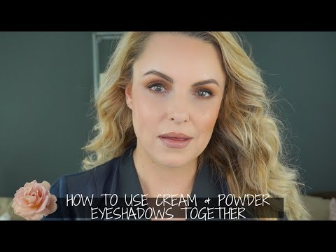 How to: Layer Cream, Powder & Liquid Liner for Bigger Eyes - Elle Leary Artistry