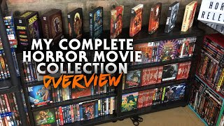 #completecollection #horrorcollection #moviecollection my complete horror movie collection intro audio by nor myers: https://www./watch?v=dhynh9fc...