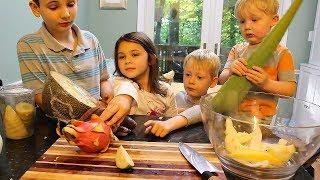 Kids Taste Test Ex๐tic Fruit