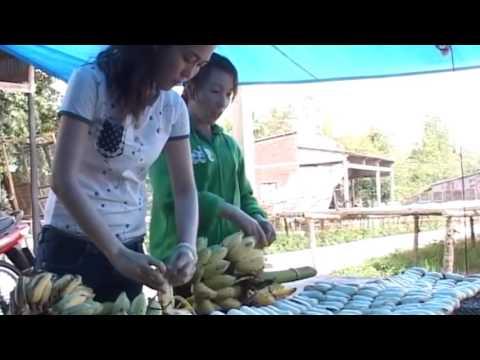 Giới thiệu Bánh chuối nướng - Đặc sản Cà Mau (chuối ép khô)