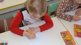 Дроби, контрольное занятие в детском саду, старшая группа