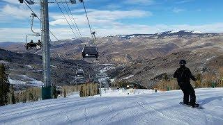 Skiing in Colorado - Beaver Creek Ski Resort Colorado 1/19/2018