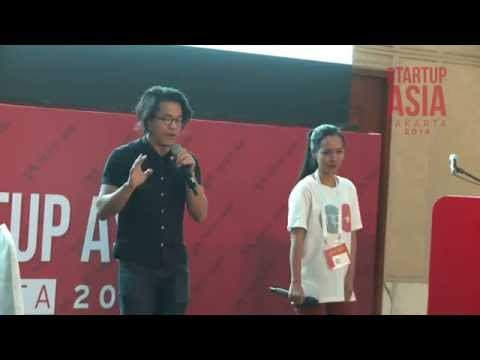 [Startup Asia Jakarta 2014] Stage Pitching - 5 Moves to Master the 3-Minute Pitch