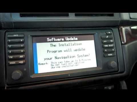 BMW E39 M5 nav software update