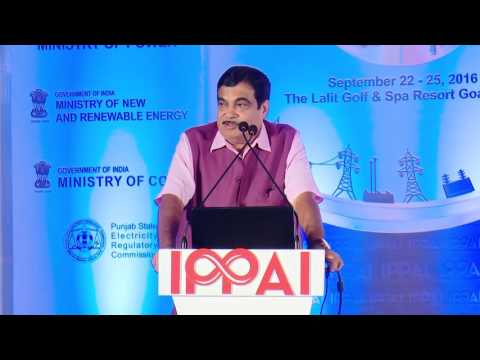 Mr. Nitin Gadkari, Hon'ble Minister of Road Transport and Highways of India - RPR 2016