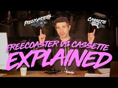 Freecoaster of cassette hub