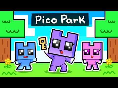 Minecraft But It's PICO PARK!