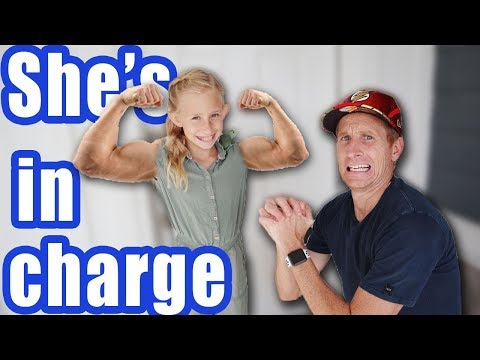 Dad Can't Say No Challenge! Daisy in charge for 24 hours Finally in Real life!