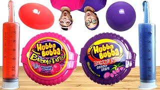 Pink Food VS Purple Food Chall…