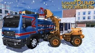 Loader & Dump Truck Winter SIM - Android Gameplay HD