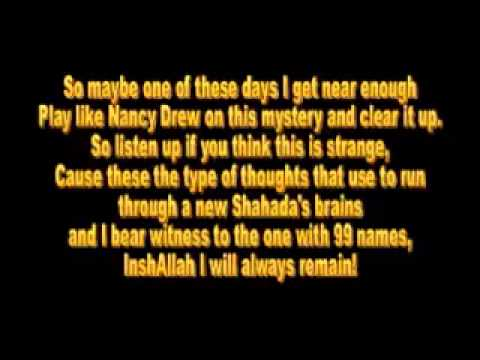 Native Deen   M U S L I M with lyrics