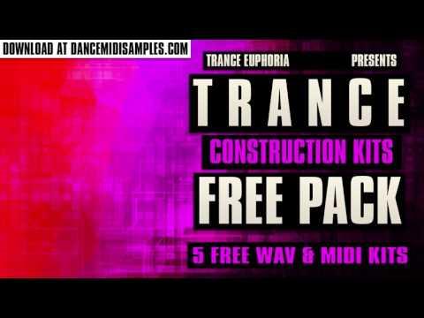 WAV Samples: Trance Euphoria Free Construction Kits Pack