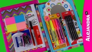 Back to School Supplies Haul 2013-14 - Shopping at Dollar Tree (Part 1 of 3)