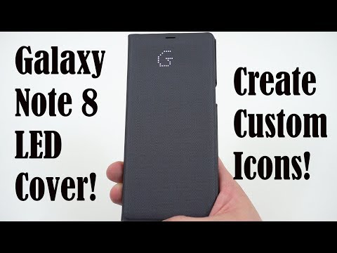 Samsung Official LED Wallet Cover for Galaxy Note 8