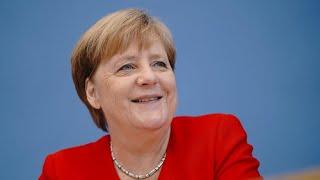 Merkel distanziert sich deutlich von Trump-Angriffen auf Demokratinnen