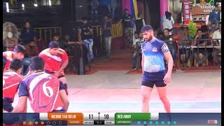 Army Cup 2019 Red Army 37-27 Income Tax feat. Rahul Chaudhary - Full Match #8