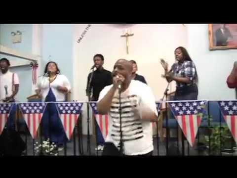 Snippet Cherrod  Allen ~ Independence Fest Worship Service 2014