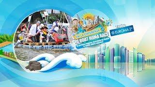 Eventi sostenibili Roma | SPOT Re Boat Roma Race 2018 - Partecipa alla regata riciclata
