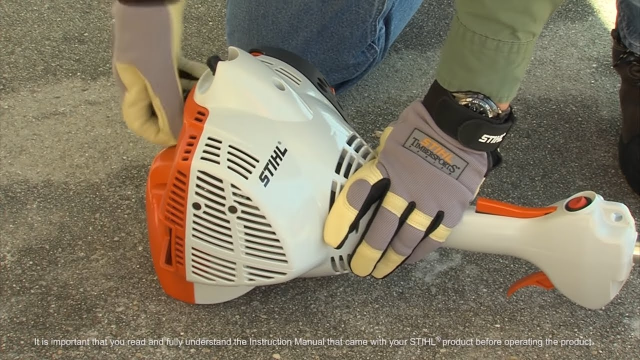 Stihl fc 56 c e edger how to start youtube biocorpaavc Image collections