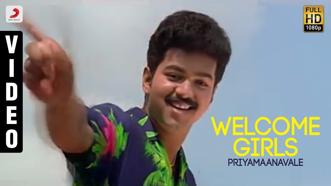 Image result for Welcome Girls song Priyamanavale images