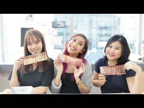 Urban Decay Naked Heat Palette FIRST IMPRESSION & REVIEW! | Daily Vanity