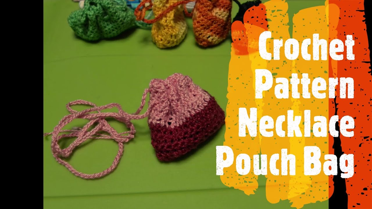 How to crochet a small pouch bag with draw string for lucky how to crochet a small pouch bag with draw string for lucky charms keepsakes youtube bankloansurffo Gallery