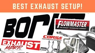 DO NOT BUY AFTERMARKET EXHAUST SYSTEMS    BEST SETUP FOR MOST MODERN HEMI
