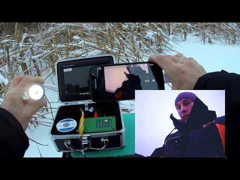 Как записать видео с подводной камеры. Подключение к смартфону.