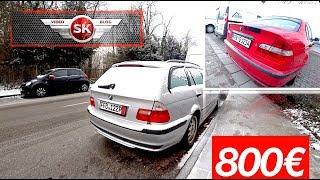 BMW e46 за 800€, два раза остановили Менты, читаю ошибки с e46, розыгрыш делать?? 10к подписчиков