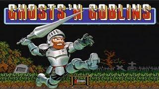 HARDEST GAME EVER!! - Ghost´n Goblins (NES) - Odairu27
