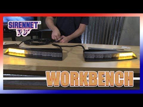 Whelen Inner Edge Xlp Ten 3 Led W Tds 2 Piece Lightbar Doovi